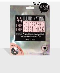 Missguided Oh K! Chok Chok Holographic Sheet Face Mask - Multicolour