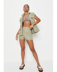 Missguided - Co Ord Utility Shorts - Lyst