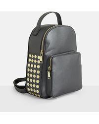 Missguided Black Mini Beaded Backpack