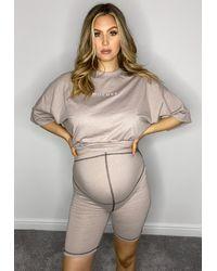 Missguided - Co Ord Maternity Cycling Shorts - Lyst