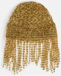 Missguided Gold Look Jewelled Head Piece - Metallic