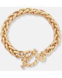 Missguided Look T Bar Chain Bracelet - Metallic