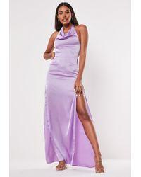 6f0b3b781ab Missguided Peace + Love Nude Kimono Sleeve Embellished Maxi Dress in ...