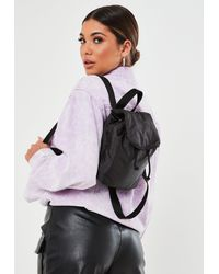 Missguided Minimal Backpack - Black