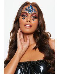 Missguided Gypsy Shrine Mera Blue Face Jewels