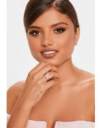 Missguided - Mg83ri00098pk1lghs Butterfly On Ring - Lyst