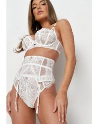 Missguided Ann Summers Fiercely Sexy Waspie - White