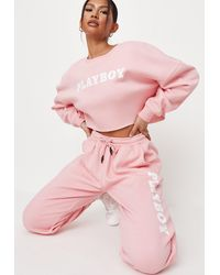 Missguided X Pink Loungewear Joggers