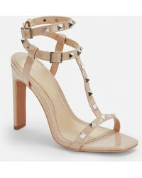 8a5acef6360b Missguided Nude Tie Up Gladiator Sandals in Natural - Lyst