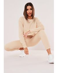 Missguided Sweatshirt And Sweatpants Co Ord Set - Multicolour