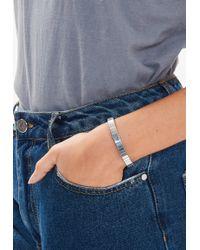 Missguided - Silver Link Bracelet - Lyst