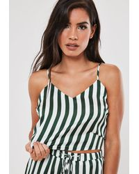 Missguided Petite Black Co Ord Belted Blazer - Green