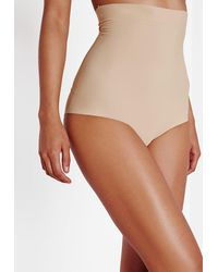 Missguided Lorin Smooth Shapewear In Nude - Natural