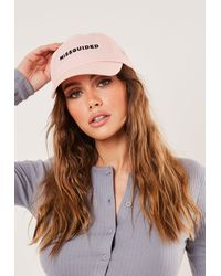 Missguided Branded Cap - Pink