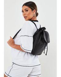 Missguided Mini Backpack - Black