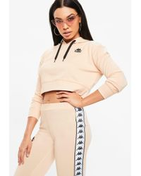 Missguided - Kappa Nude Authentic Pullover Fleece - Lyst