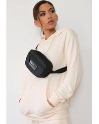 Missguided Nylon Bum Bag - Black