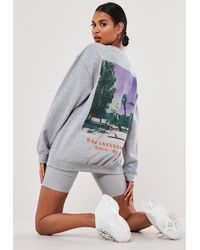 Missguided Dark Gray Ultimate Puffer Jacket