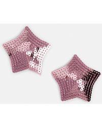 Missguided - Pink Star Nipple Tassels - Lyst