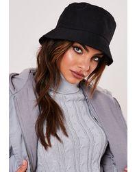 Missguided Bucket Hat - Black