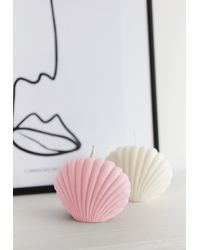 Missguided Alpha Female Club Baby Pink Shell Candle - Unscented