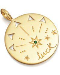 Missoma - Mantra Luck Talisman Pendant - Lyst