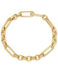 Missoma Gold Axiom Chain Bracelet - Metálico