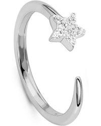 Missoma | Silver Nova Ring | Lyst