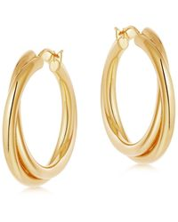 Missoma Lucy Williams Gold Entwine Hoops - Multicolor