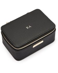 Missoma Matte Black Small Jewelry Case
