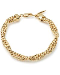 Missoma Marina Double Chain Bracelet - Multicolor