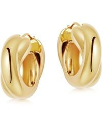 Missoma Lucy Williams Gold Chunky Entwine Hoops - Multicolor