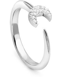 Missoma - Silver Eclipse Ring - Lyst