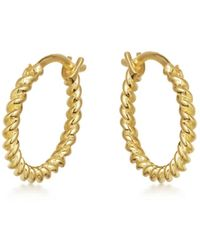 Missoma Gold Mini Helical Hoops - Multicolor