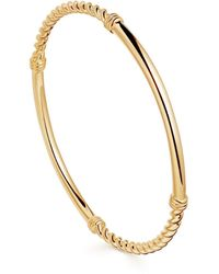 Missoma Gold Cord Bangle - Multicolour