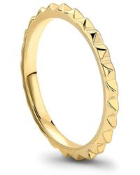 Missoma - Pyramid Ring - Lyst