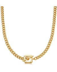 Missoma - Lucy Williams Gold T Bar Chain Necklace - Lyst