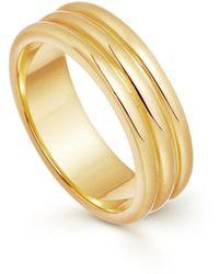 Missoma Gold Ancien Ring - Metallic