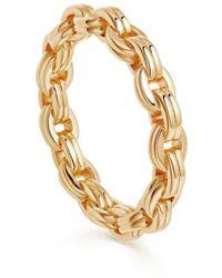 Missoma Gold Bond Ring - Metallic