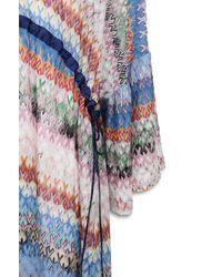 Missoni Short Beach Dress - Blue