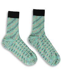 Missoni M Short Socks - Green