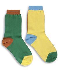 Missoni M Short Socks - Yellow