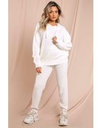 MissPap - Knitted Hooded Lounge Set - Lyst