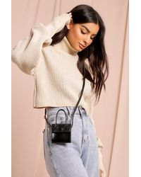 MissPap Mini Cross Body Bag - Black