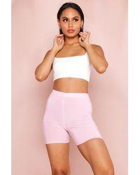 MissPap Basic Cycling Shorts - Pink