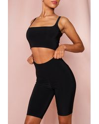 MissPap Double Layered Cycling Short - Black