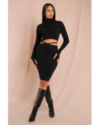 MissPap - Grown On Roll/polo Neck Knitted Jumper - Lyst