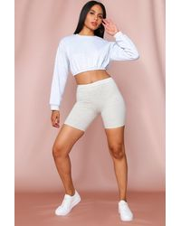 MissPap Supersoft Cycling Shorts - White