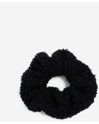 Miss Selfridge Black Borg Scrunchie