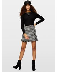 Miss Selfridge Petite Black Scoop Back Bodysuit